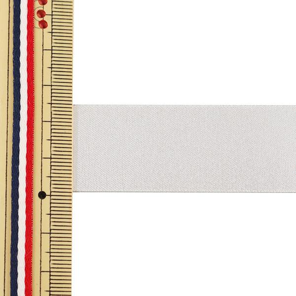 【数量5から】リボン 『両面メタリックサテンリボン 24mm 3番色』 AOYAMARIBBON 青山リボン