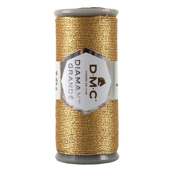 刺しゅう糸 『DMC DIAMANT GRANDE (ディアマントグランデ) ライトゴールド G3821』 DMC ディーエムシー