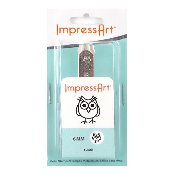 金属刻印 メタルスタンピング 『ImpressArt デザインスタンプ ふくろう 6mm U1036 6』 MIYUKI ミユキ