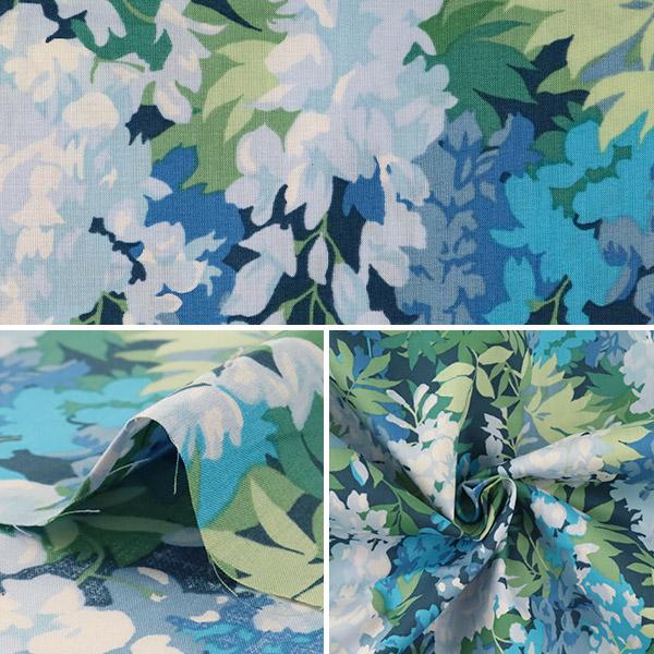 【数量5から】生地 『LIBERTY リバティプリント タナローン サマーフレスコ ブルー』 Liberty Japan リバティジャパン