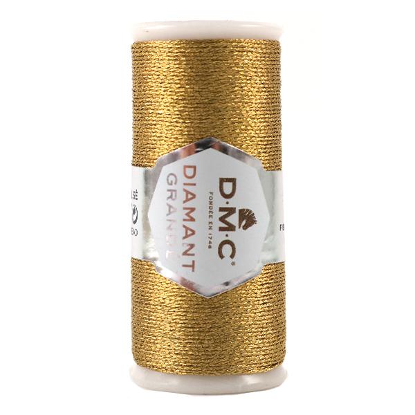 刺しゅう糸 『DMC DIAMANT GRANDE (ディアマントグランデ) ゴールド G3852』 DMC ディーエムシー