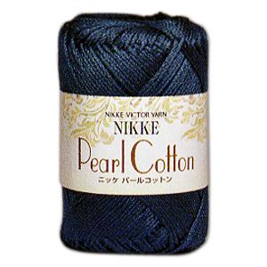 春夏毛糸 『NIKKE Pearl Cotton (ニッケパールコットン) 9番色』 NIKKEVICTOR ニッケビクター