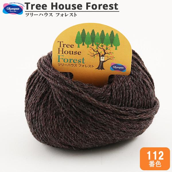秋冬毛糸 『Tree House Forest (ツリーハウス フォレスト) 112番色』 Olympus オリムパス