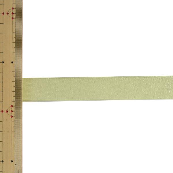 【数量5から】 リボン 『ファインクリスタル 幅約2.5cm 65番色 41500』 TOKYO RIBBON 東京リボン