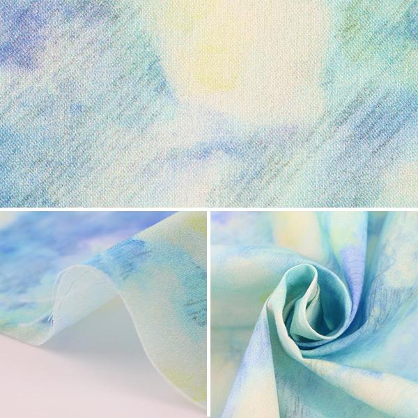 【数量5から】生地 『yui by Ayano ichiyanagi Rosa banksiae lutea インクジェット 60ローン EGXA-6107-1A』 KOKKA コッカ