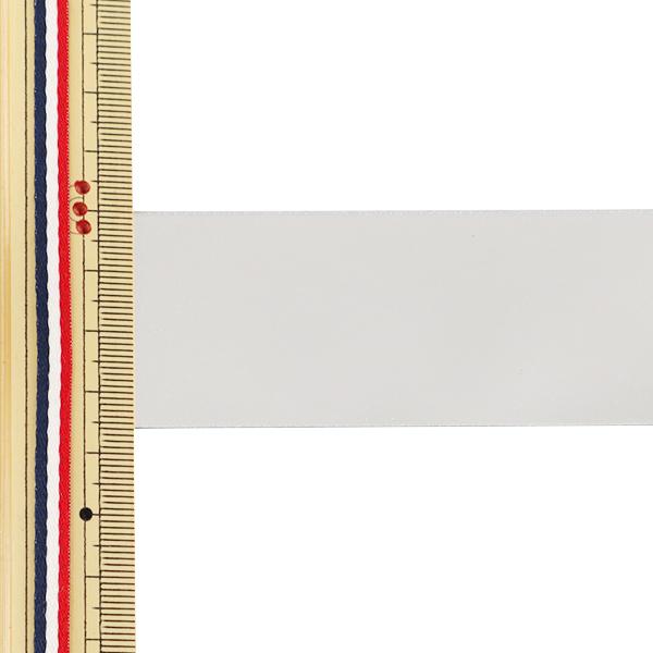【数量5から】リボン 『両面メタリックサテンリボン 36mm 3番色』 AOYAMARIBBON 青山リボン