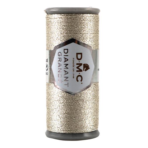 刺しゅう糸 『DMC DIAMANT GRANDE (ディアマントグランデ) ライトシルバー G168』 DMC ディーエムシー