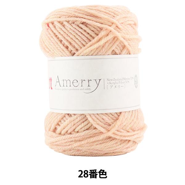 秋冬毛糸 『Amerry (アメリー) 28番色』 Hamanaka ハマナカ
