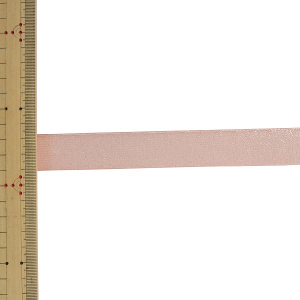 【数量5から】 リボン 『ファインクリスタル 幅約2.5cm 8番色 41500』 TOKYO RIBBON 東京リボン