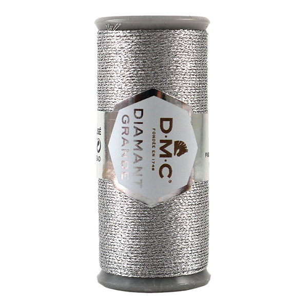 刺しゅう糸 『DMC DIAMANT GRANDE (ディアマントグランデ) シルバー G415』 DMC ディーエムシー