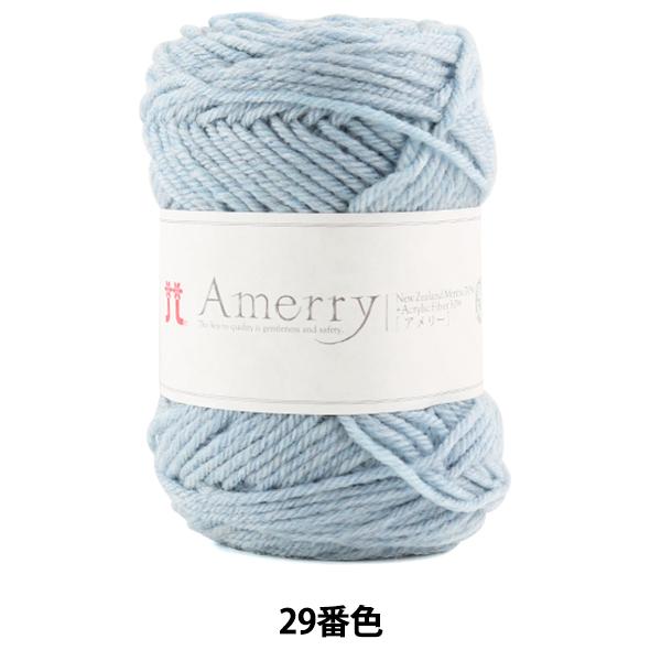 秋冬毛糸 『Amerry (アメリー) 29番色』 Hamanaka ハマナカ