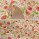 【数量5から】生地 『ブロード イチゴと花 KTS6025-A』 COTTON KOBAYASHI コットンこばやし 小林繊維