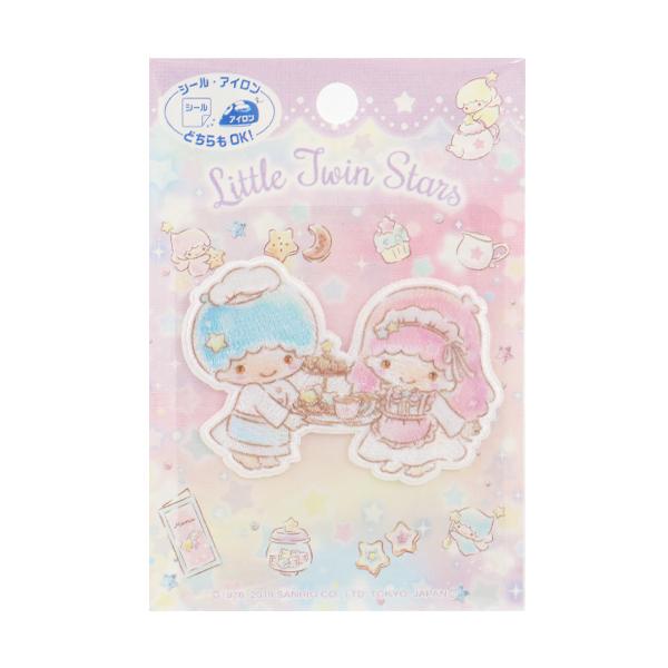 ワッペン 『サンリオ ワッペン リトルツインスターズ Little Twin Stars』 PIONEER パイオニア