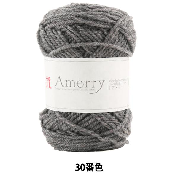 秋冬毛糸 『Amerry (アメリー) 30番色』 Hamanaka ハマナカ