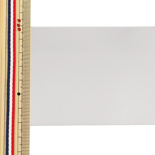 【数量5から】リボン 『両面メタリックサテンリボン 72mm 3番色』 AOYAMARIBBON 青山リボン