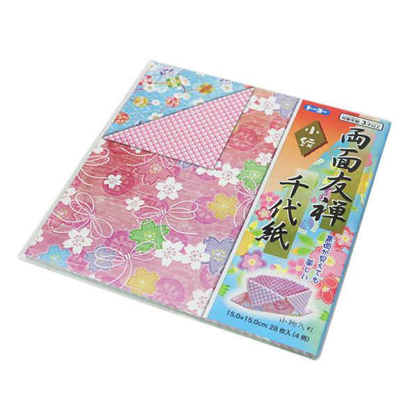 折り紙 千代紙 『両面友禅千代紙 小紋 15.0 010118』 トーヨー