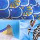 生地 『シーチング インクジェットプリント カットクロス season greeting 5月こいのぼり ブルー YKA-81080-1A』 KOKKA コッカ