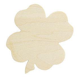 トールペイント土台 『白木 クローバー・3枚セット B-818』 Country Craft カントリークラフト