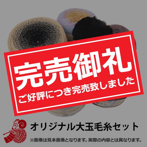 お楽しみセット『毛糸(40玉セット) 2,980円+税』