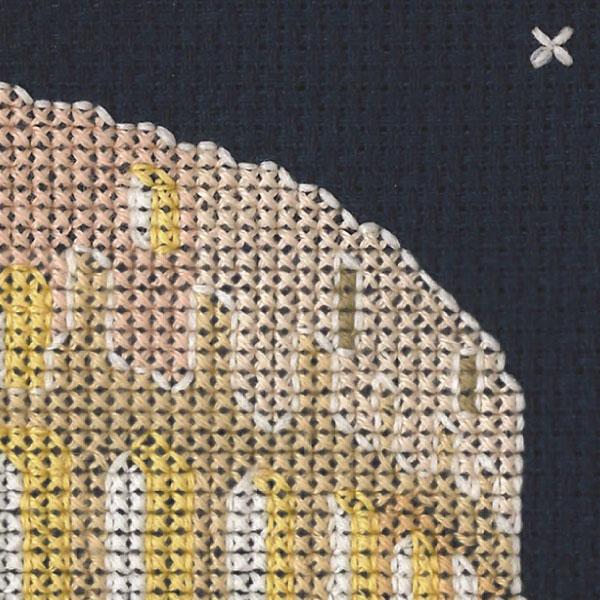 刺しゅうキット 『COLOSSEUM KIT BK177 コロッセオ』 DMC ディーエムシー