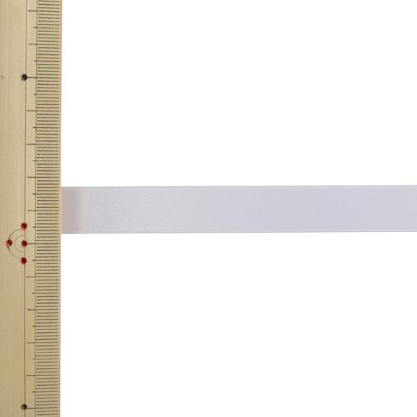 【数量5から】 リボン 『ポリエステル両面サテンリボン #3030 幅約1.5cm 1番色』