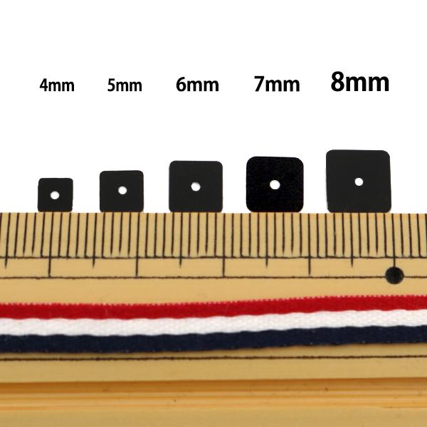 スパンコール 『四角 5mm SQ 12番色』
