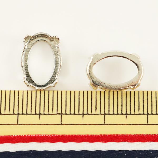 手芸金具 『#4120用 シルバー 2個入』