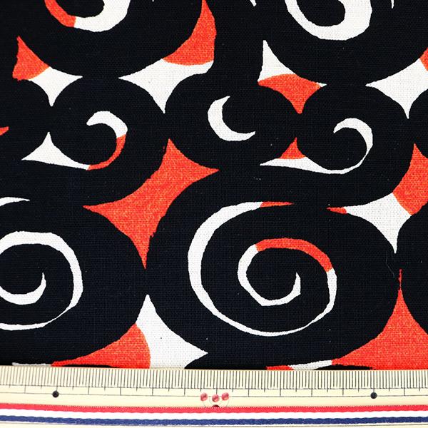 【数量5から】生地 『綿麻キャンバス ざくろ UP5689-A う早この布』 COTTON KOBAYASHI コットンこばやし 小林繊維