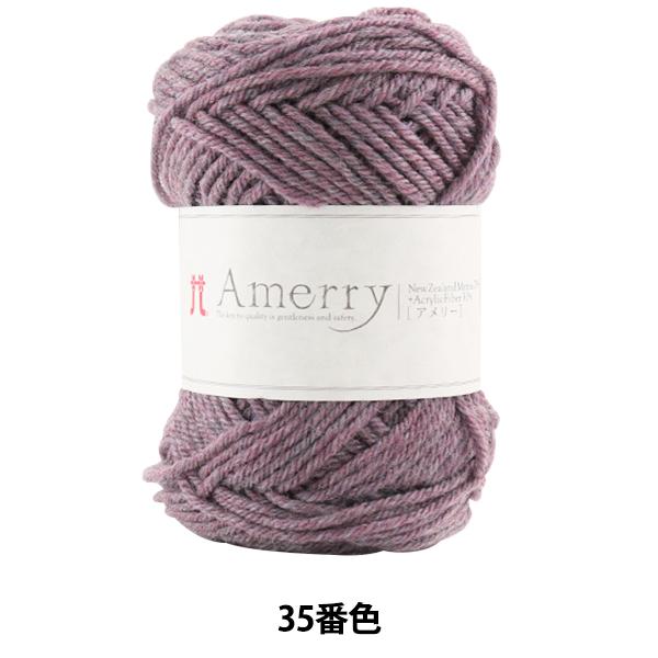 秋冬毛糸 『Amerry (アメリー) 35番色』 Hamanaka ハマナカ