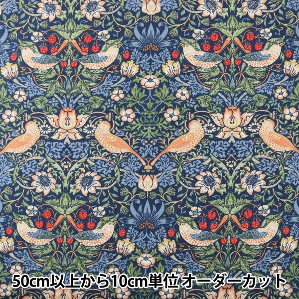 【数量5から】生地 『moda fabrics William Morris ウィリアムモリス Strawberry Thief シーチング 8176-44』