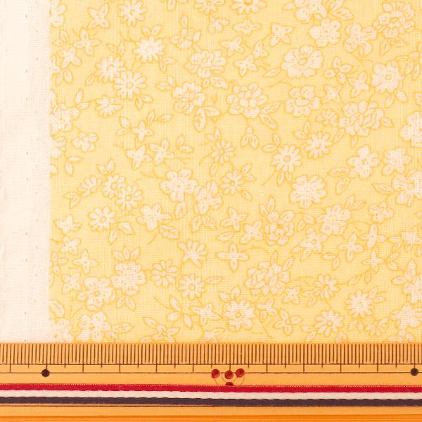 【数量5から】生地 『Wガーゼ (ダブルガーゼ) 小花柄 YUZ-521-4』 YUWA 有輪商店