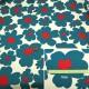 【数量5から】生地 『花柄ツイルプリント KTS3676-A』 COTTON KOBAYASHI コットンこばやし 小林繊維