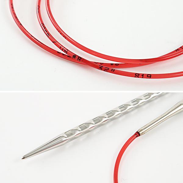 【編み物道具最大20%オフ】 編み針 『addiNovel (アディノーベル) 輪針 40cm 6.0mm』 addi アディ
