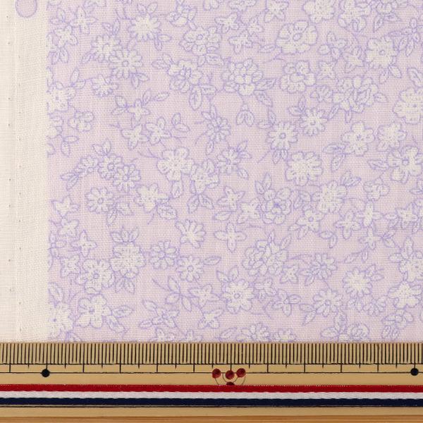 【数量5から】生地 『Wガーゼ (ダブルガーゼ) 小花柄 YUZ-521-5』 YUWA 有輪商店