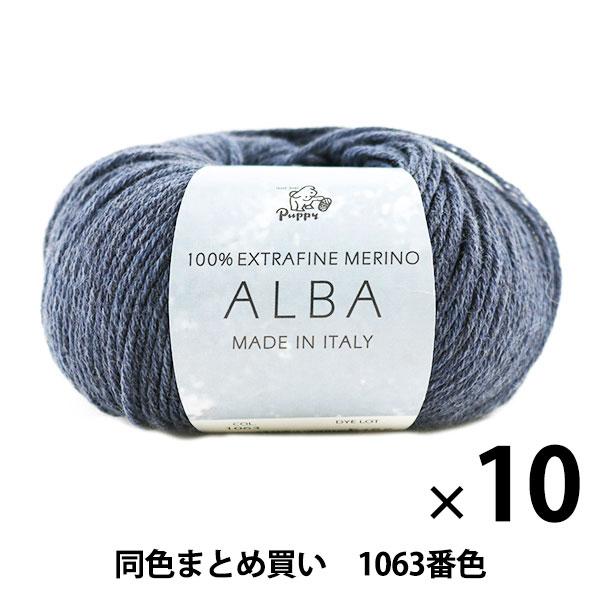 【10玉セット】秋冬毛糸 『ALBA(アルバ) 1063番色』 Puppy パピー【まとめ買い・大口】