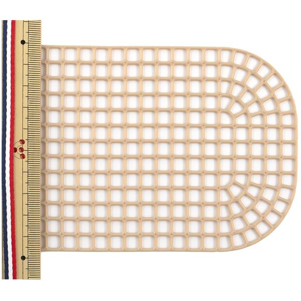 編み物 芯 『あみあみ だ円モチーフ ベージュ H202-551-4』 Hamanaka ハマナカ