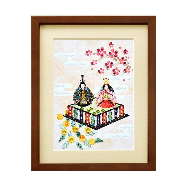 ビーズキット 『ビーズデコールキット 日本の四季 3月 ひな祭り BHD-64』 MIYUKI ミユキ