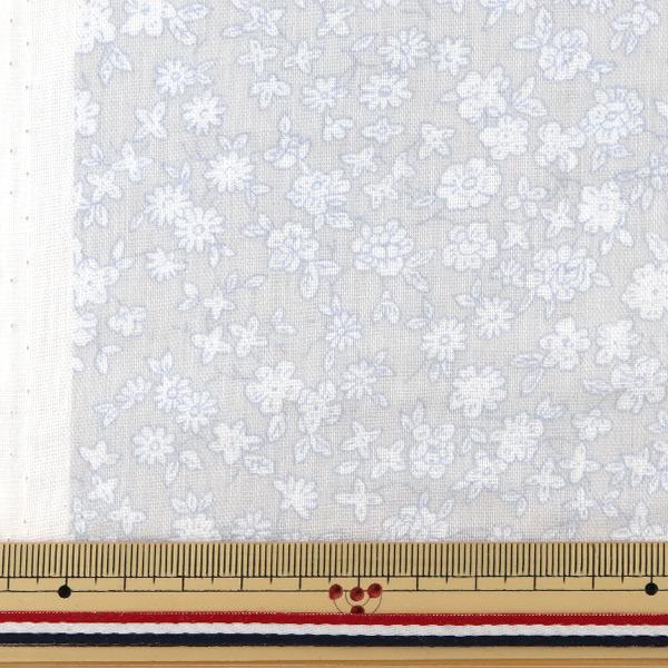【数量5から】生地 『Wガーゼ (ダブルガーゼ) 小花柄 YUZ-521-6』 YUWA 有輪商店