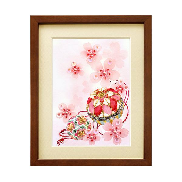 ビーズキット 『ビーズデコールキット 日本の四季 4月 さくらとまり BHD-43』 MIYUKI ミユキ