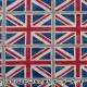 【数量5から】生地 『ツイル Go to LONDON ユニオンジャック 1A』 KOKKA コッカ