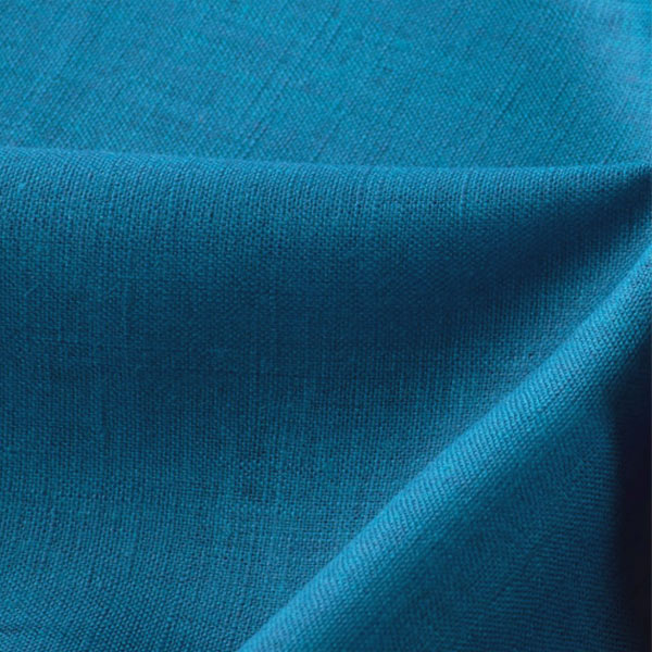 【数量5から】生地 『麻 (リネン) ブルー』