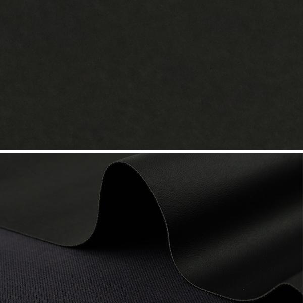 生地 『フェイクレザー カットクロス プレーン 1番色 約70×50cm C-P13086-01BK』