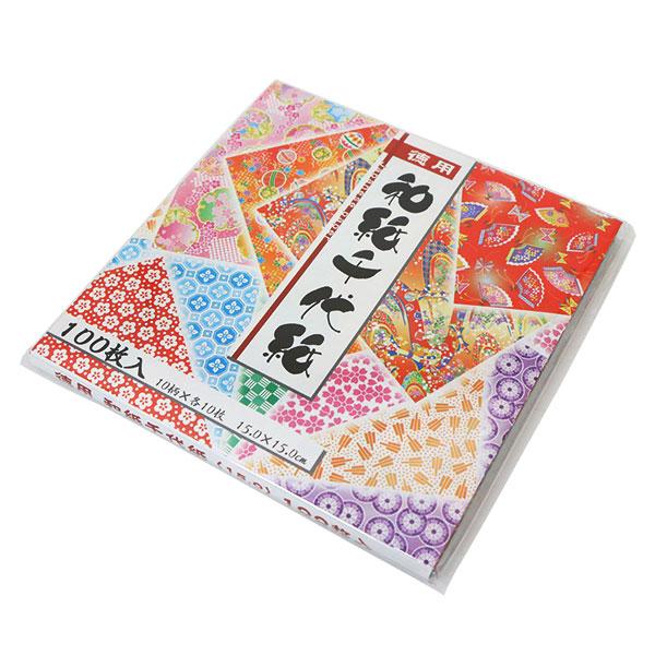折り紙 千代紙 『徳用和紙千代紙』 トーヨー