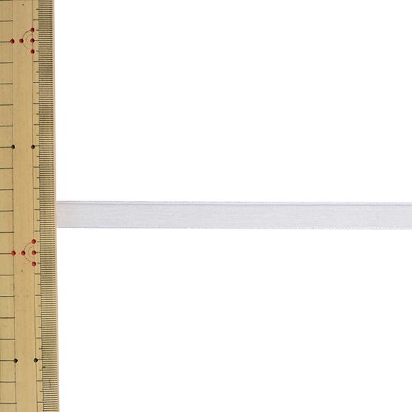 【数量5から】 リボン 『エッジドオーガンジー 幅約1.2cm 1番色 31600』 TOKYO RIBBON 東京リボン