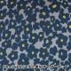 【数量5から】生地 『Wガーゼ エコベロオーガニック In nature flower グレー×ネイビー YKA-81070-1B』 KOKKA コッカ