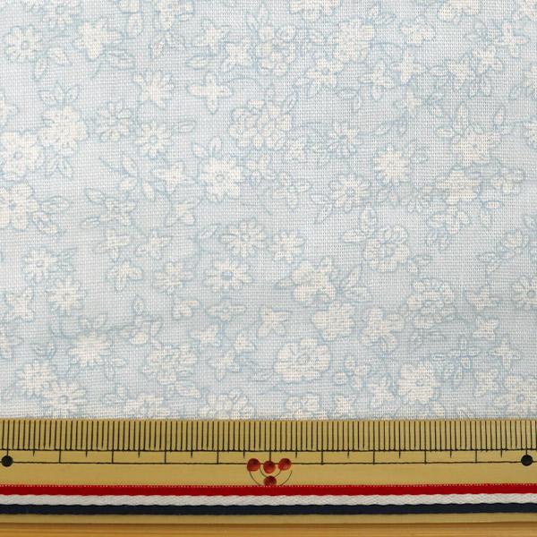 【数量5から】生地 『Wガーゼ (ダブルガーゼ) 小花柄 YUZ-521-8』 YUWA 有輪商店