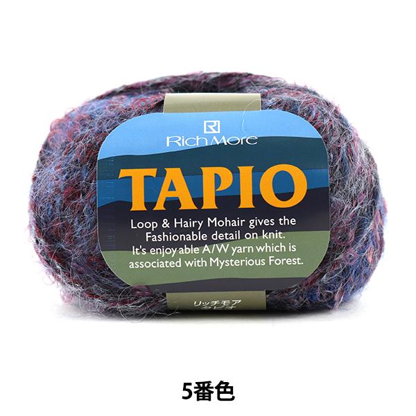 秋冬毛糸 『TAPIO (タピオ) 5番色』 RichMore リッチモア
