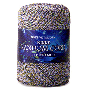 春夏毛糸 『RANDOM CORD (ニッケランダムコード) 308番色』 NIKKEVICTOR ニッケビクター