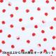 【数量5から】生地 『Wガーゼ ホーミーコレクション りんご レッド GH10322S-C』