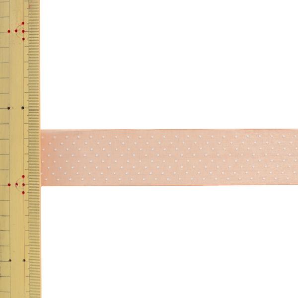 【数量5から】 リボン 『ドットプリントリボン SIC-312 幅約3.6cm 16番色』
